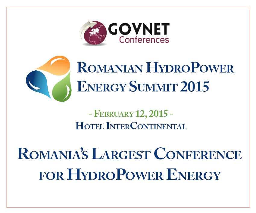 Hydro Power Energy Summit