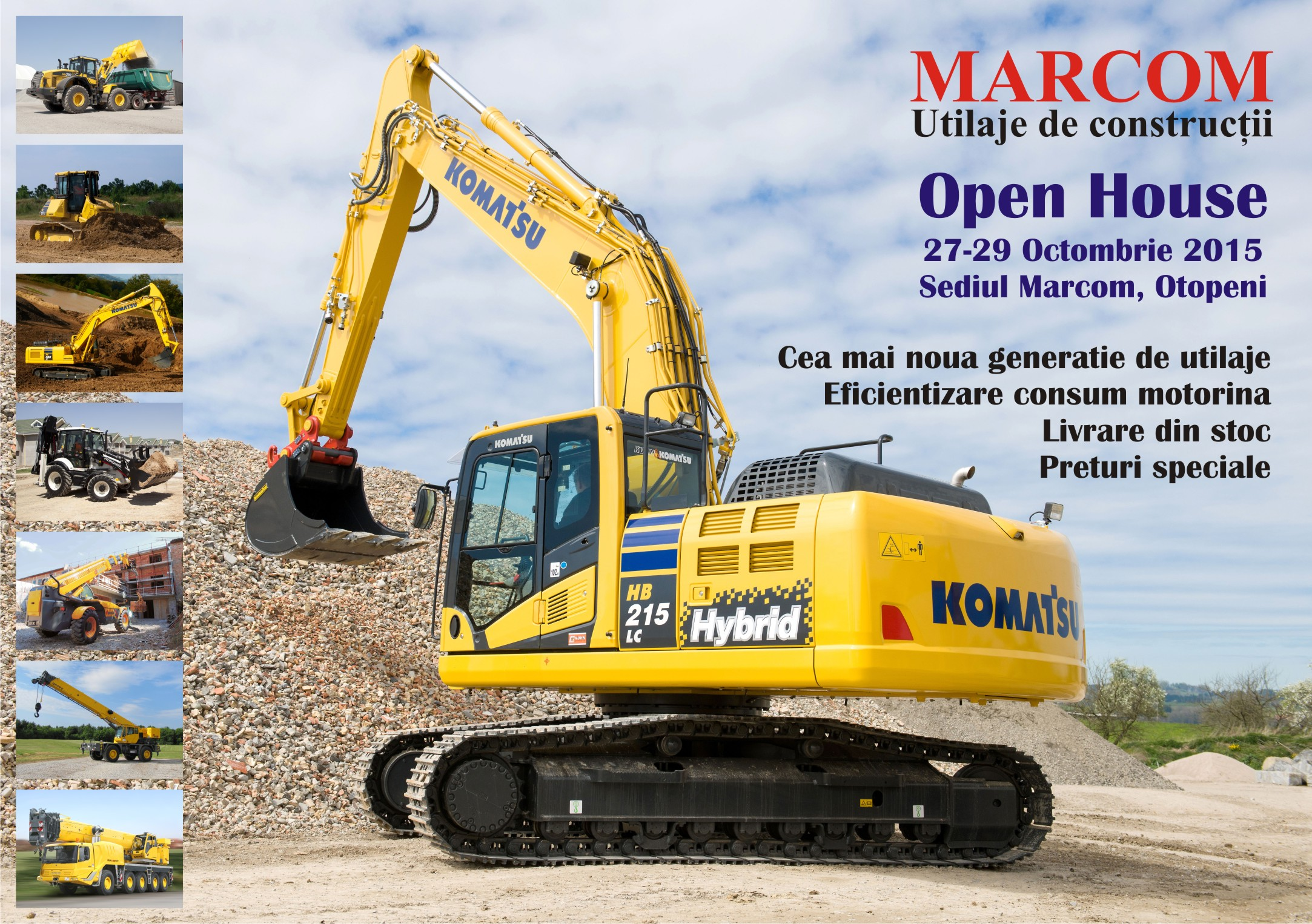 Utilaje&Constructii Marcom Open House