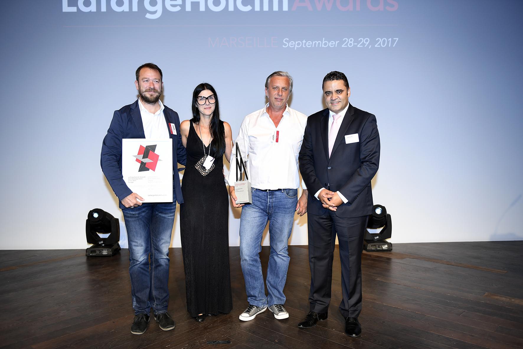 Proiectul Grivița 53 distins cu LafargeHolcim Awards Acknowledgement 2017 Europe