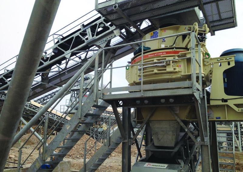 Noul rotor al concasorului Barmac reduce mentenanța la jumătate