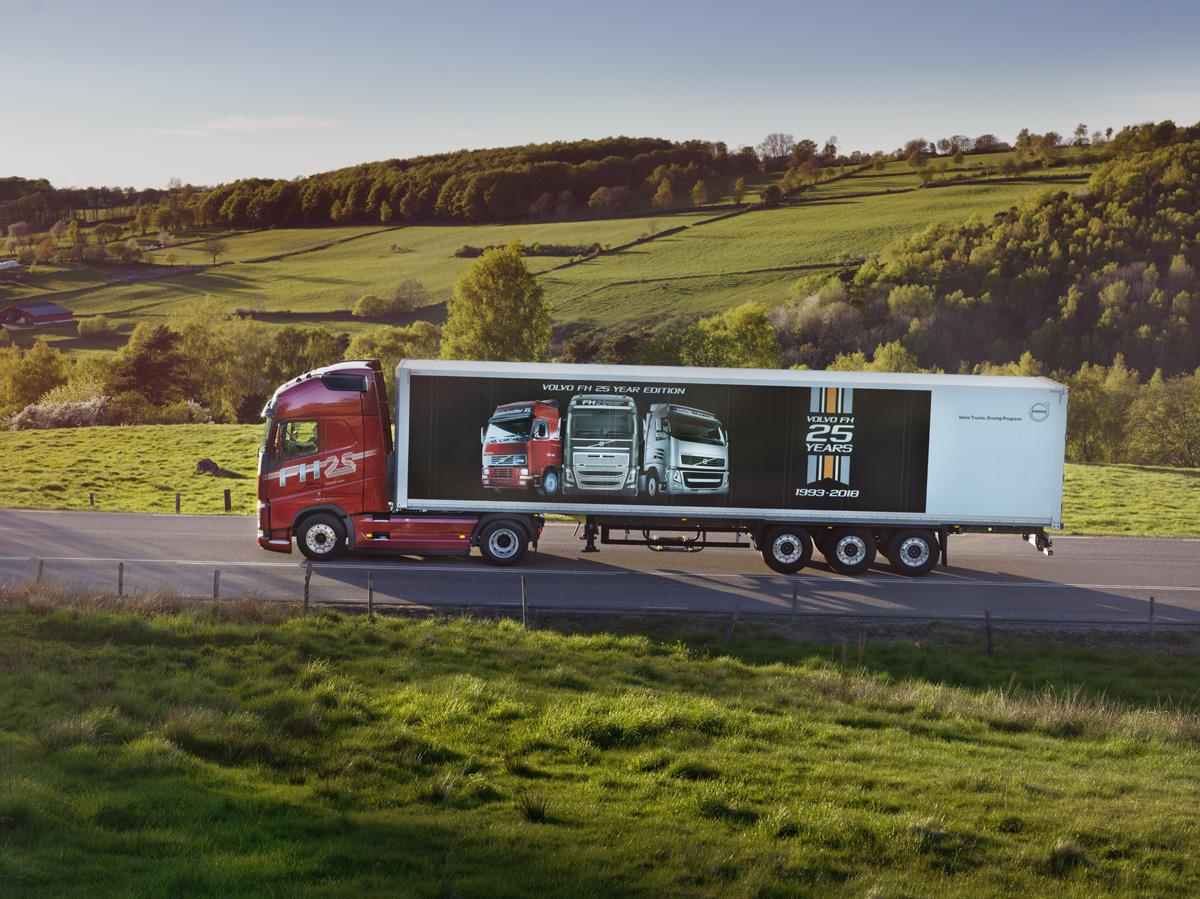 Volvo Trucks a introdus modelul aniversar FH 25 Year Special Edition