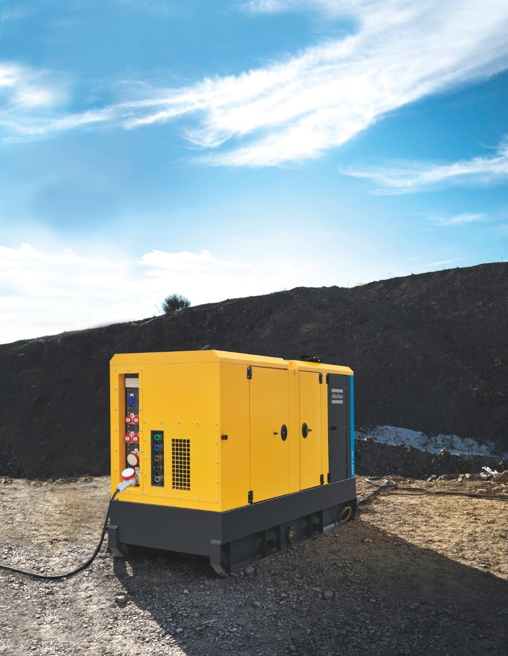 Noile generatoare QAS 5 – Puterea celor 5 de la Atlas Copco