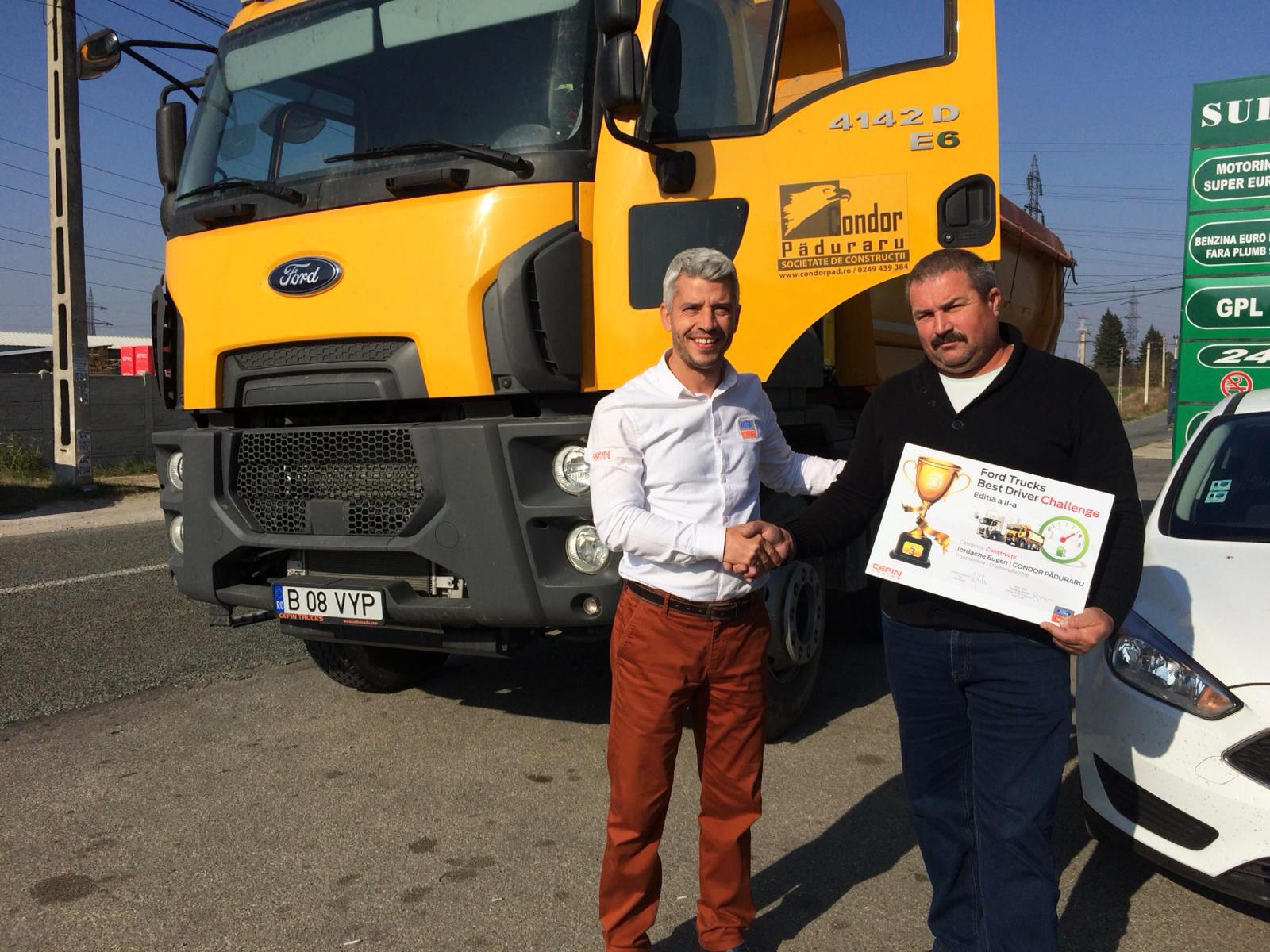 Ford Trucks Best Driver Challenge (ediția a doua) și-a desemnat câștigătorii