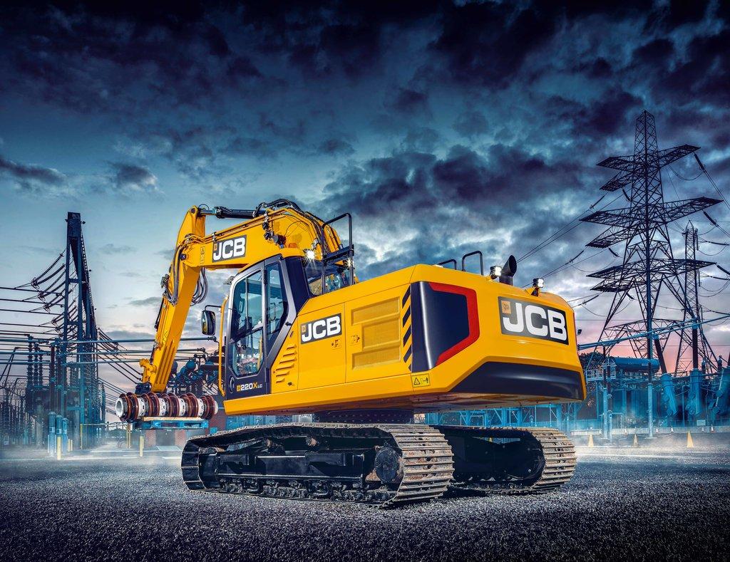 Confortul operatorului, prioritatea noilor excavatoare JCB 220X