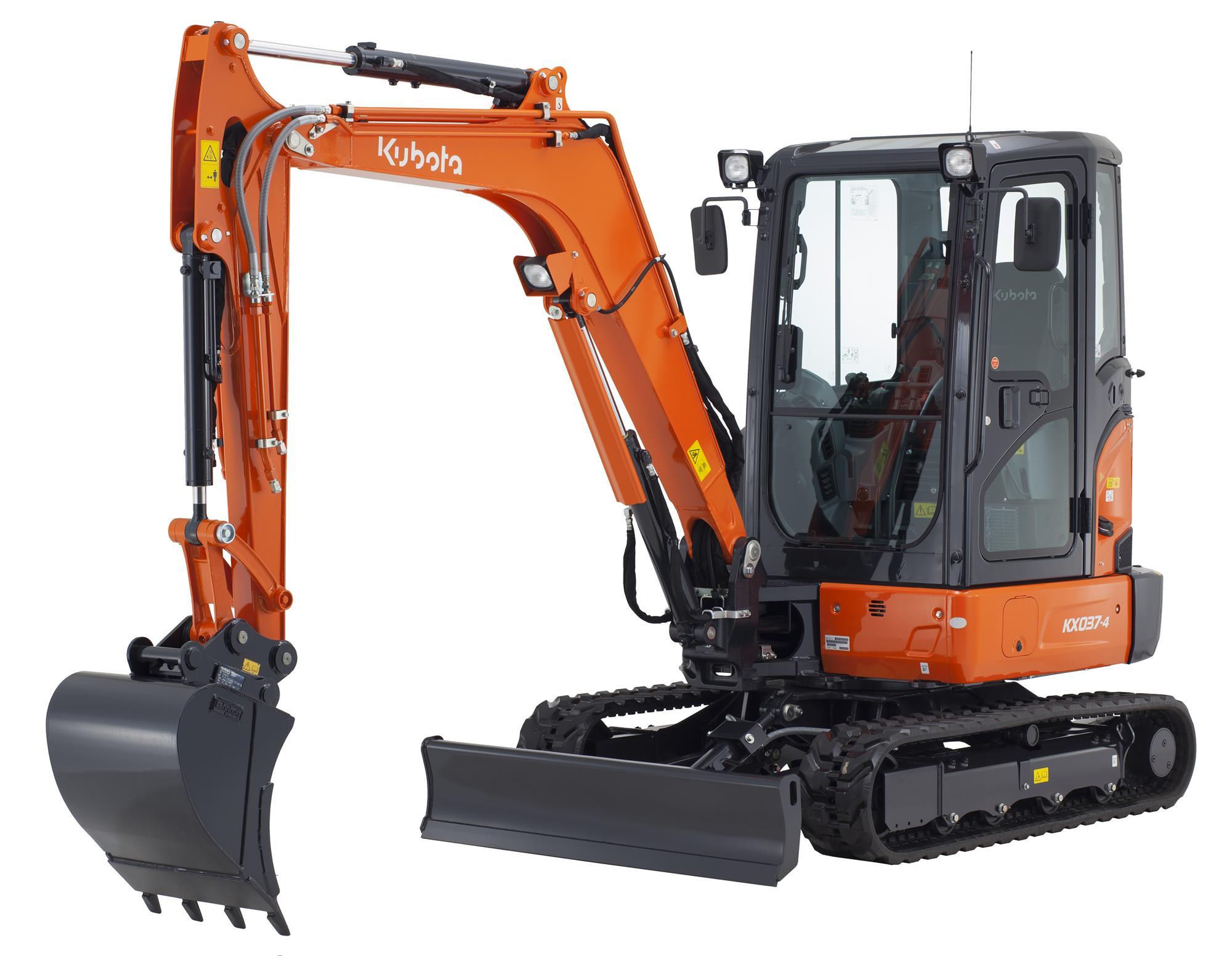 Kubota a lansat un nou mini excavator de 3,7 tone