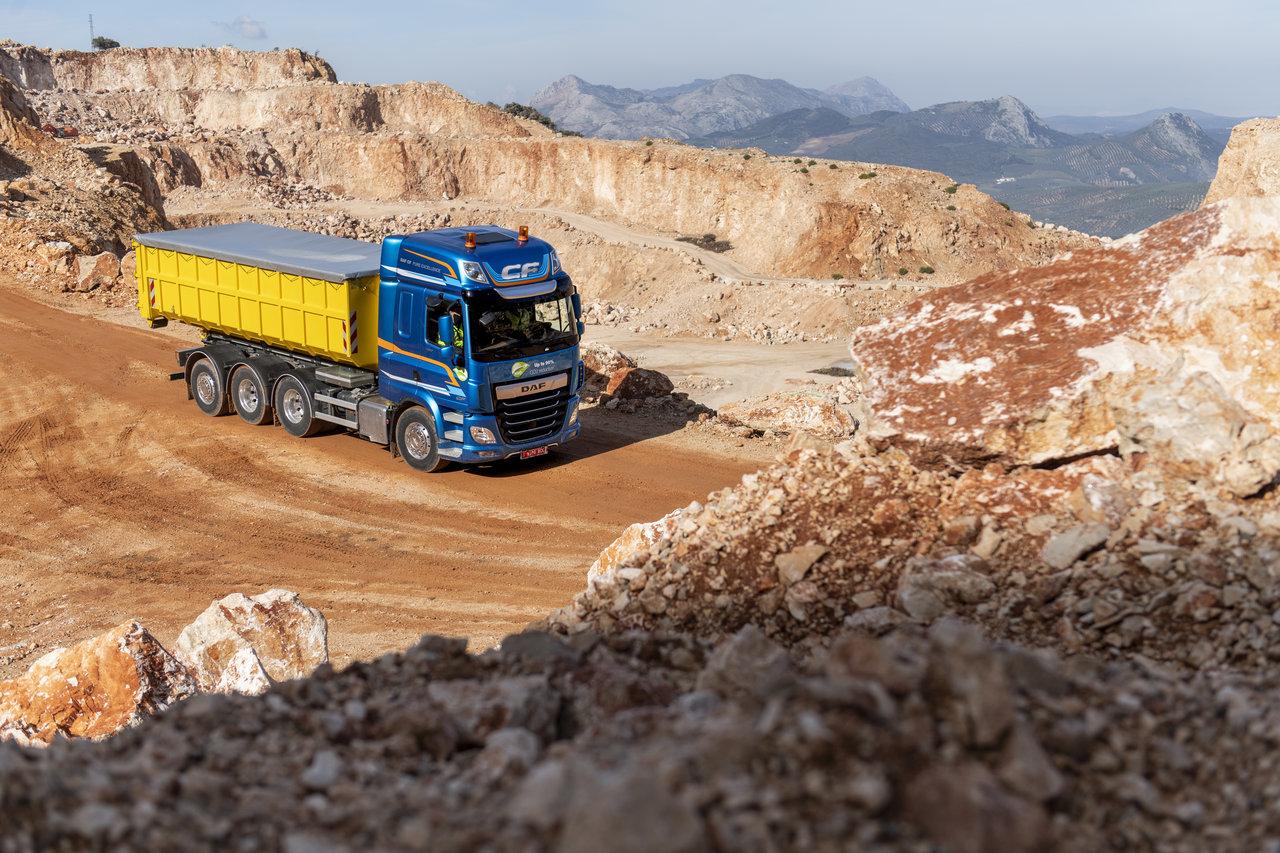 DAF își extinde gama de produse pentru segmentul de construcții