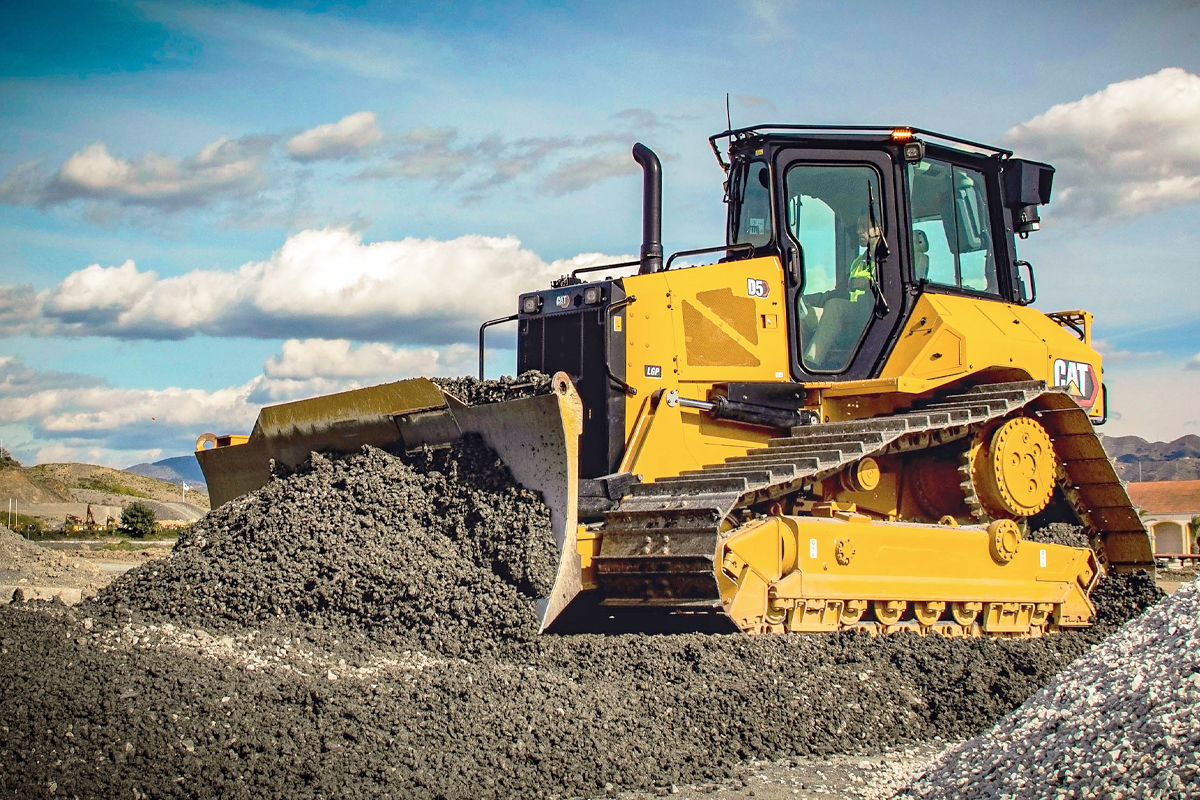 Noul buldozer Cat® D5 – Performanțe de generație următoare și tehnologii de top