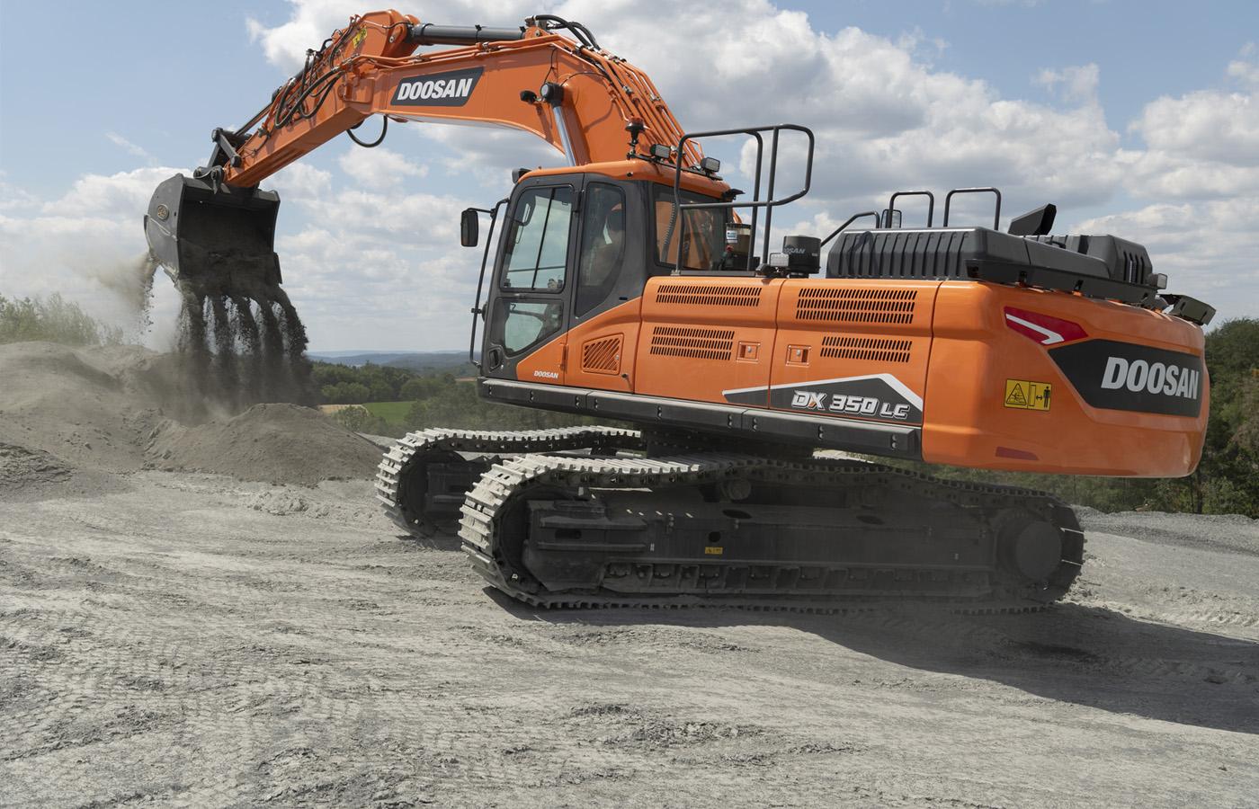 Doosan completează clasa sa de excavatoare de 30 – 40 t