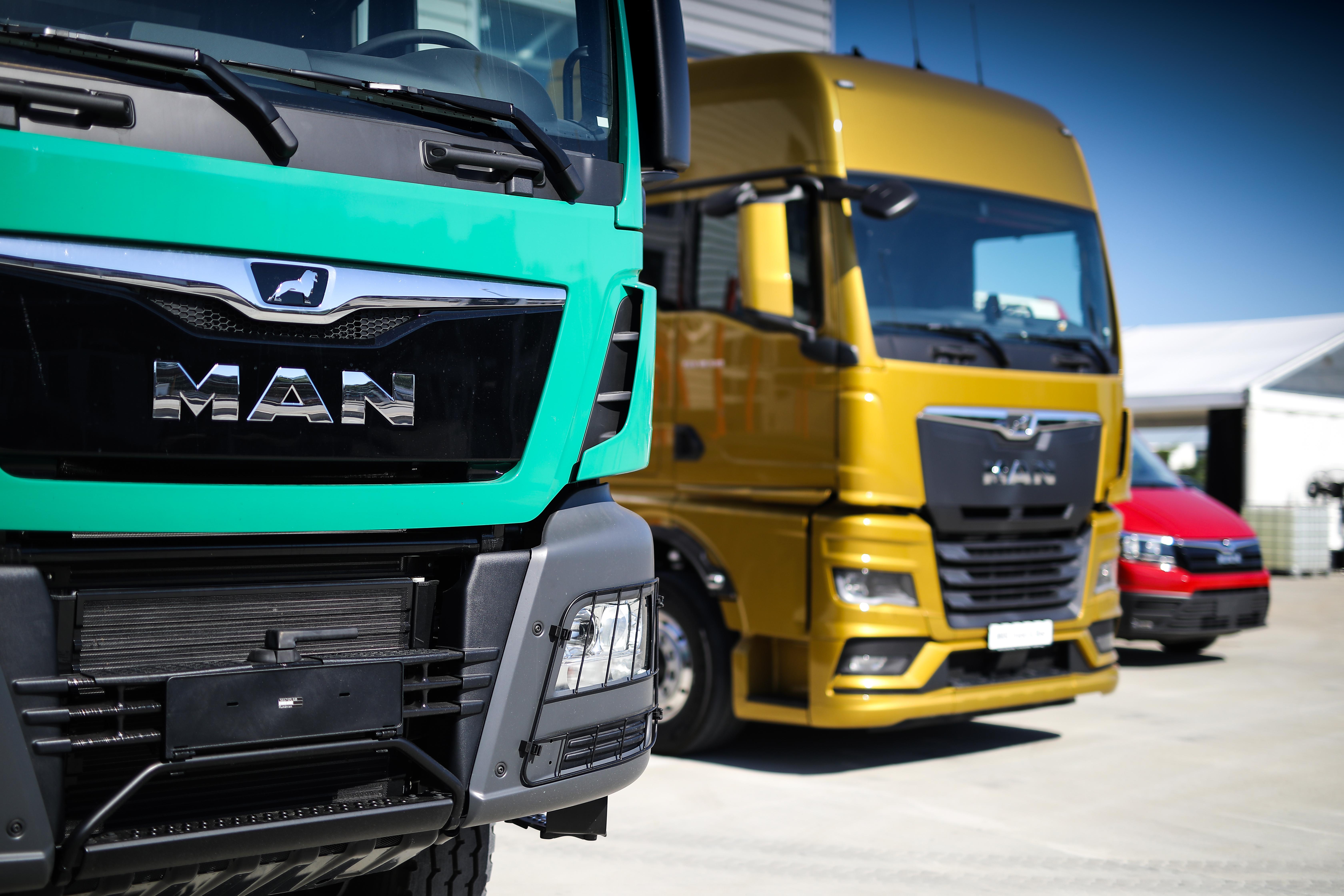 Noul autotractor MAN TGX și comerciala ușoară MAN TGE prezentate oficial în România