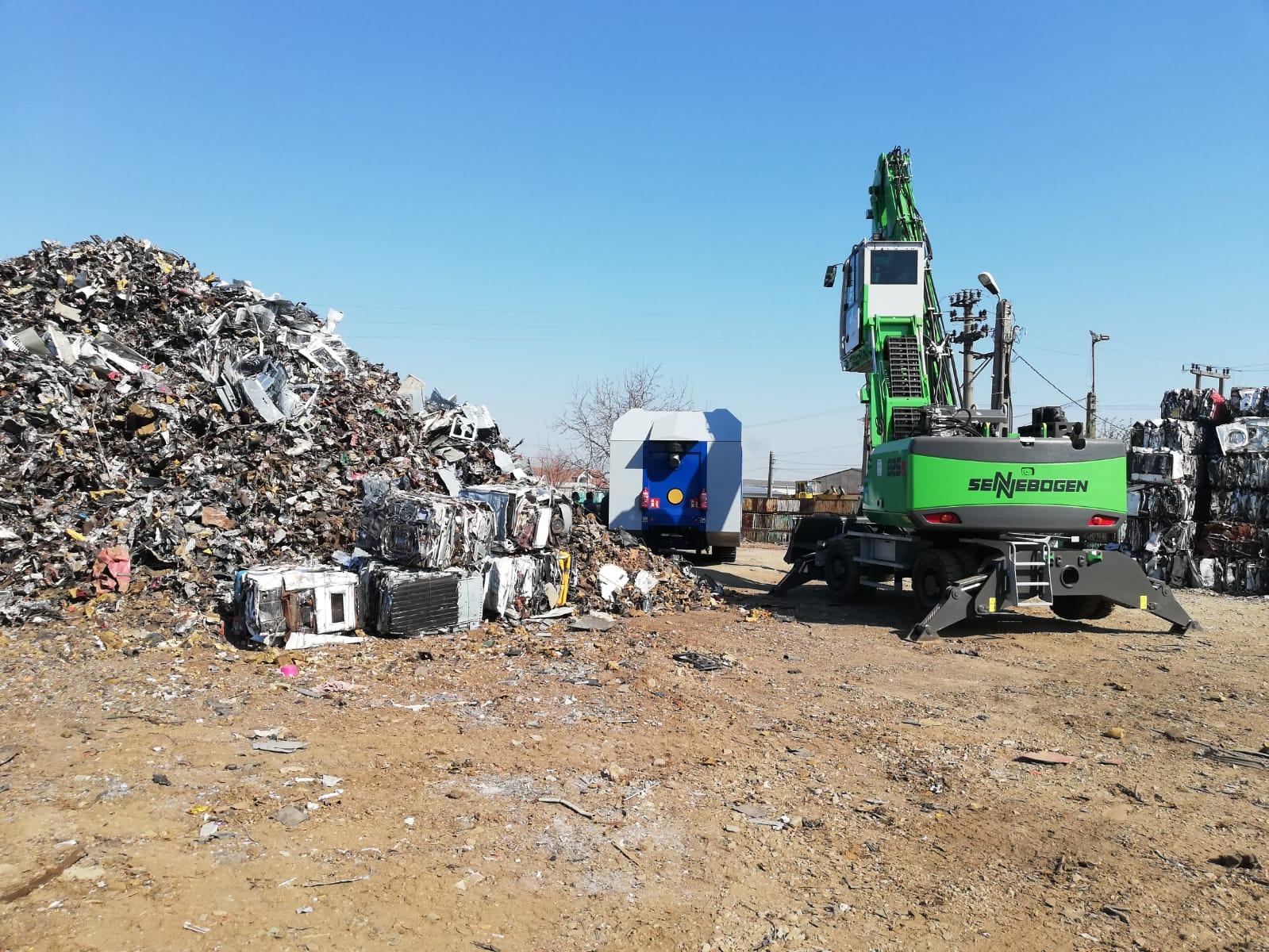 TERRA România Utilaje de Constructii srl – soluții pentru prelucrarea deșeurilor metalice