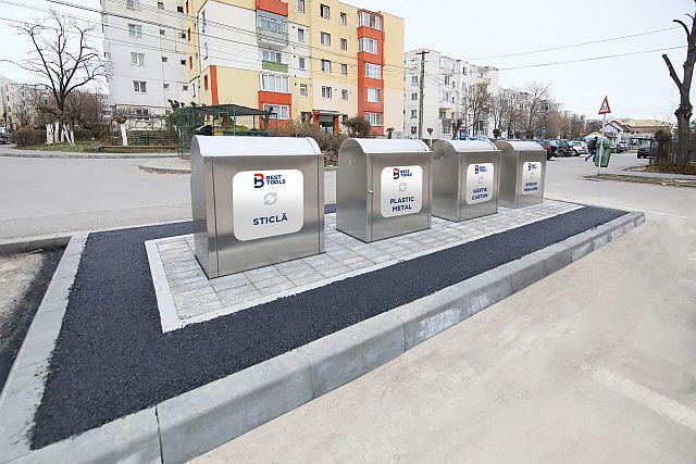 Platforme subterane de colectare selectivă a deșeurilor