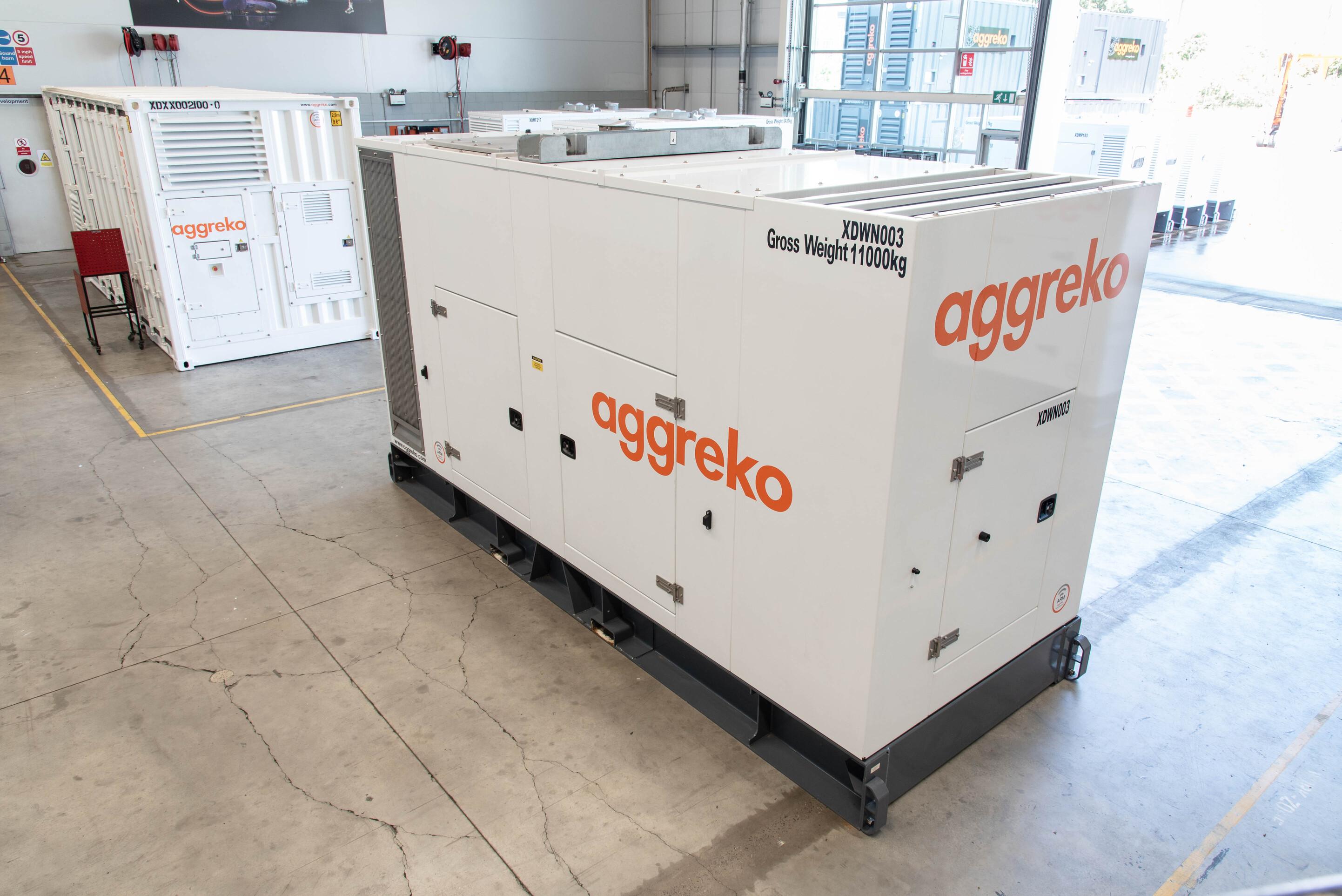 Noua gamă de generatoare de la Aggreko
