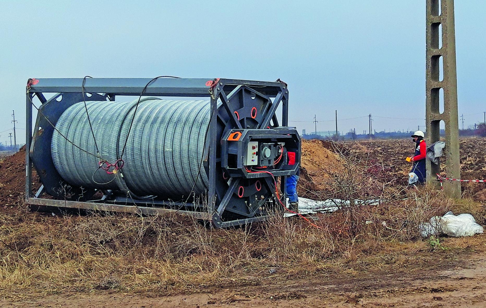 """""""Răspuns de urgență"""" – coroziunea unei conducte de petrol brut"""