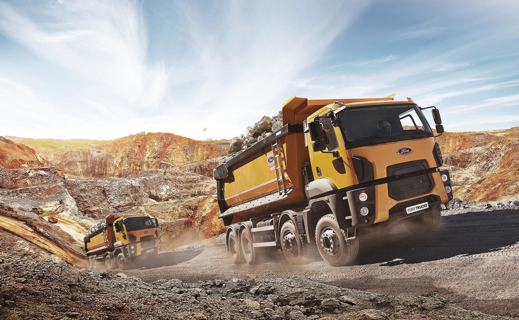 FORD Trucks, preferatul șantierelor din România
