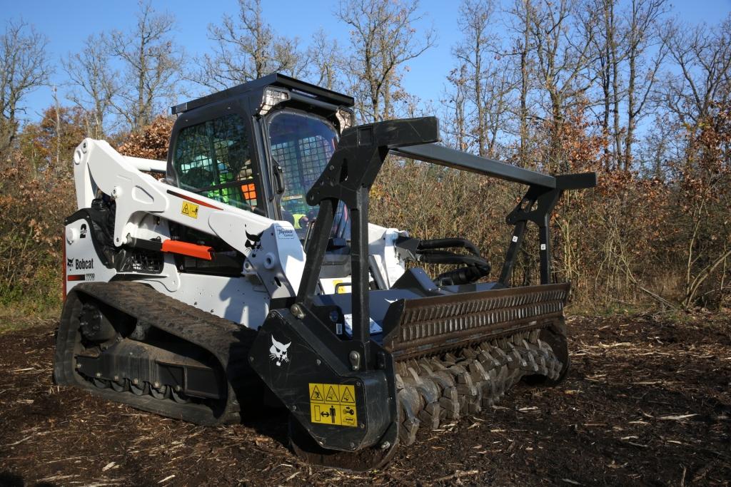 Bobcat lansează o nouă gamă de atașamente pentru utilaje forestiere