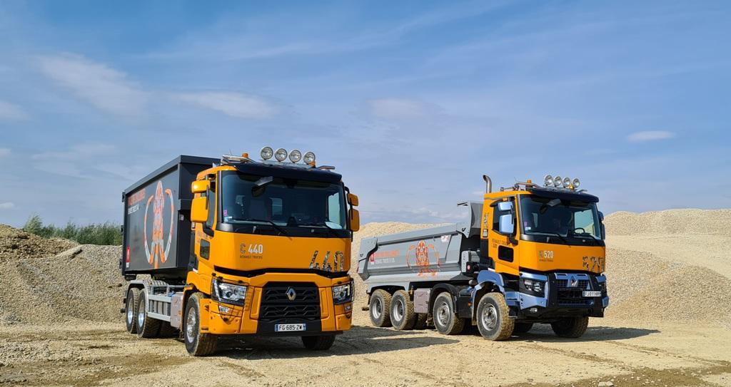 Noua generație de camioane Renault Trucks C&K