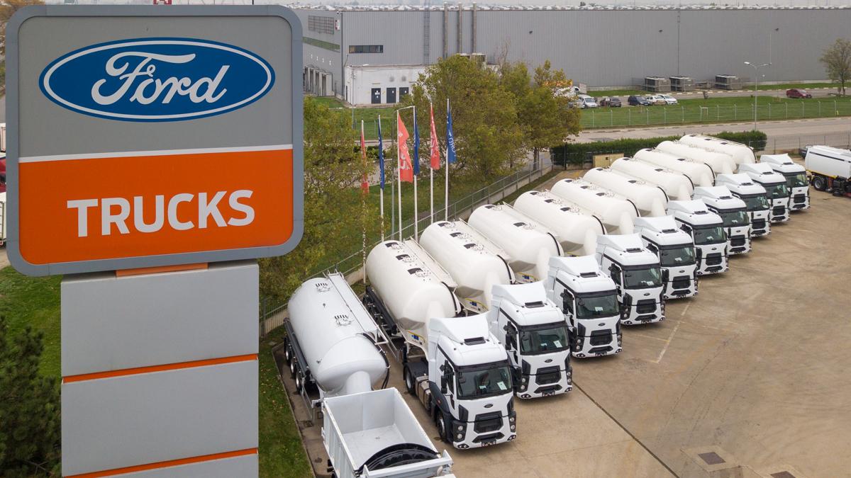 Cefin Trucks livrează prima parte a unei flote de 100 unități Ford Trucks 1842T