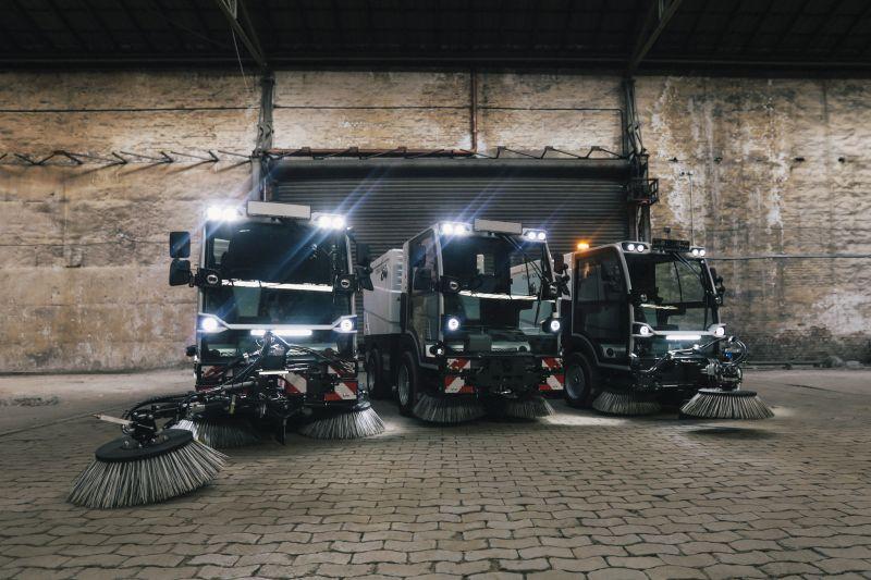 Noua gamă de automăturători compacte Bucher Municipal