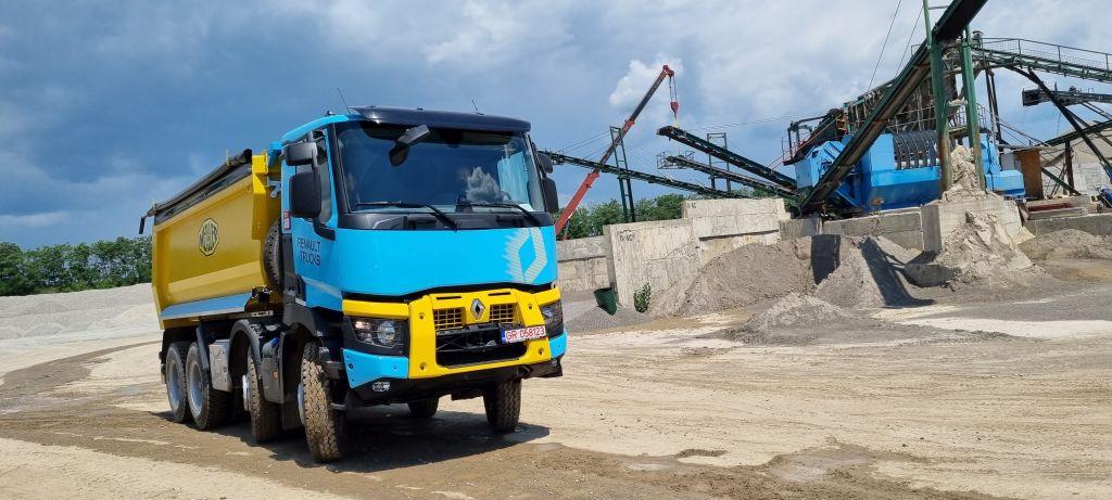 Renault Trucks K, mai puternic ca oricând