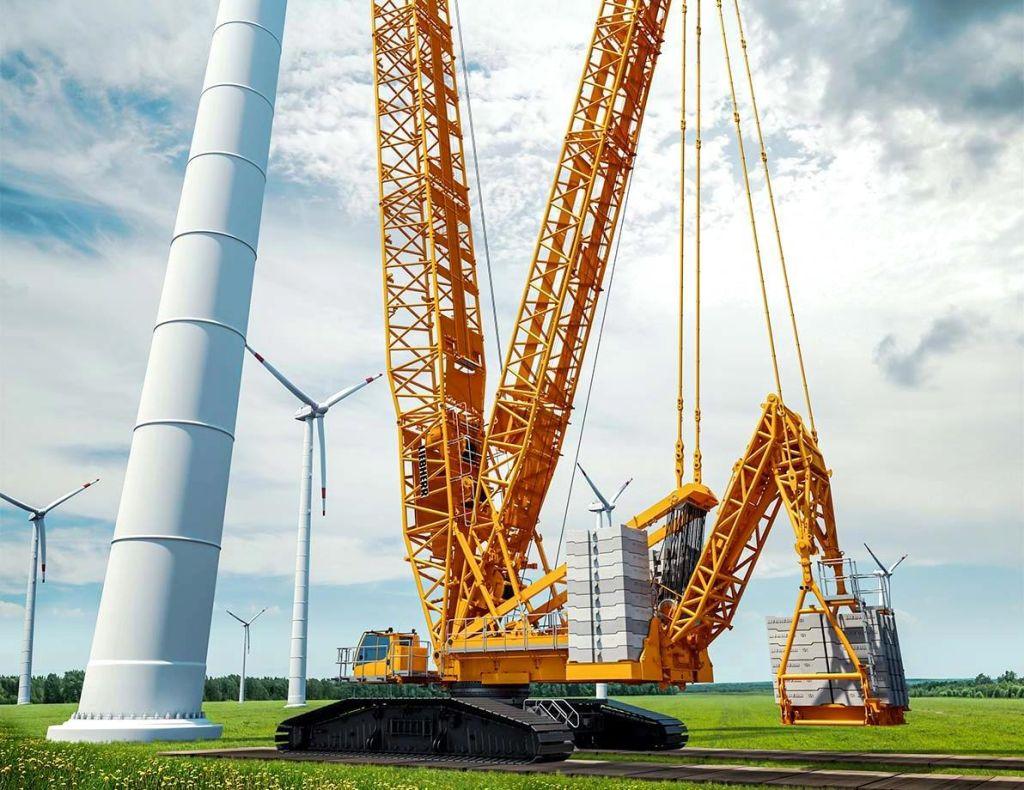 Rapidă și puternică – Liebherr prezintă noua macara pe șenile de 700 tone, model LR 1700-1.0